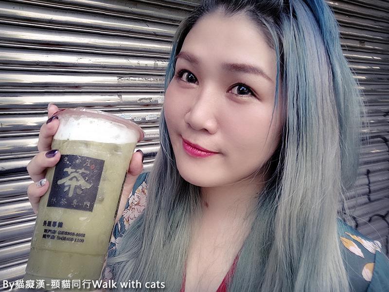 逢甲夜市振興卷京沺屋抹茶專賣